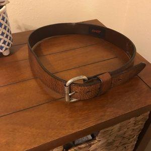Levi's genuine brown leather belt 34/36